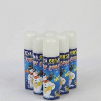 China Crazy Color PP Cap Tinplate Can 200ml Party Snow Spray wholesale