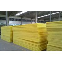 China 50mm Flame Resistant Glass Wool Pipe Insulation For External Walls wholesale