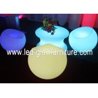 China High efficiency Waterproof Glowing LED Bar Chair , led lounge chair furniture wholesale