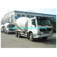 China 6X4 howo concrete truck mixer T5G ZZ1257N404HD1 RHD 14 cubic meters for vietnam on sale