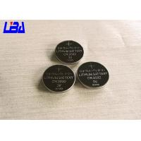 China Standard CR2032 240mAh Lithium Button Batteries For Watch Electric Toys wholesale