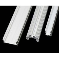 China 6063 - T5 Construction Aluminum Profile Extrusion Channel With PVDF / Powder Coating wholesale