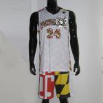 China 2016 Custom New Design Sublimated Camo Basketball Uniform wholesale