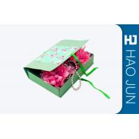 Flat Pack Cardboard Gift Boxes Packaging With Foldble Lids , Square Shape