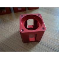 Quality High-precision Red Color Anodized CNC Machining Aluminum Industrial Parts for sale