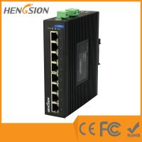 China 8 Port Auto Adaptive Unmanaged Full Gigabit Switch , Industrial Ethernet Switch wholesale