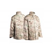 China M65 Military Field Jacket Water Repellent With Concealed Hood wholesale