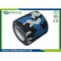 China Camo Army Non Woven Cohesive Bandage Self Adhesive Camping Hunting Camouflage Tape on sale