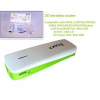 Quality 3G Hotspot Mini WiFi AP 3G Wireless Router with 1800mAh Power Bank for sale