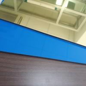 China Gold Colour High Reflective Mirror Finish Aluminum Sheet , Mirror Polished Aluminium Sheet wholesale