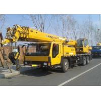 China Hoisting Machinery Pilot Control Hydraulic Truck Crane , Hydraulic Arm Crane wholesale