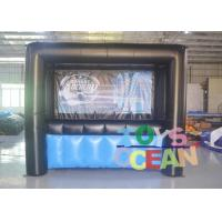 Quality Custom Logo Inflatable Interactive Games Archery Hover Ball Shooting Gallery for sale
