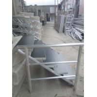 China Pipe Spigot Connection Aluminum Stage Truss With 5 Steps Stair , Main Tube 50mm wholesale