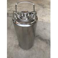 China Customized SS Home Brew Keg , 5 Gallon Corny Keg With Pressure Relief Valve And Lids wholesale