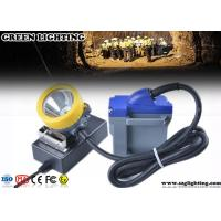 China 15000 Lux LED Miners Lights For Hard Hats , 6600mAH Cord Safety Hard Hat Lights  wholesale