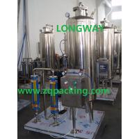 1500LPH automatic soda carbonate water making machine for drink and CO2