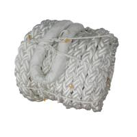 China Marine White Mooring Line Rope Braided Structure 200 Meters Strong Adaptability wholesale