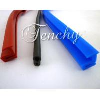 China Solid Silicone Rubber Seal Extrusion Profiles For Heat Resistant Weather Stripping wholesale