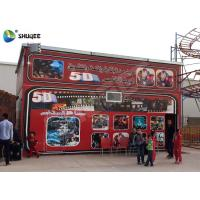 China 5D Cinema 5D Movie Theater Including The Outside Cabin Electronic Dynamic System wholesale