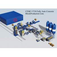 China Brick Machinery Plant Concrete Block Making Machine with PLC Control System Fully Automatic wholesale