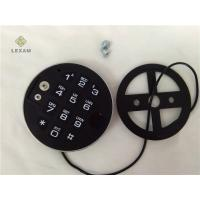 China Digital Safe Keypad Replacement Satin Chrome Plated Finish Multi Size Choice wholesale