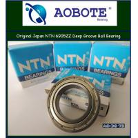 China Deep Groove NTN Ball Bearings 6905ZZ , Miniature Unsealed RS with High Chrome wholesale