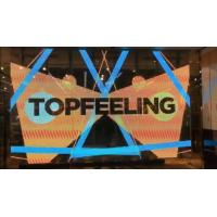 China 6500 Nits Transparent LED Screens For Shopping Window Ads 500x500mm Cabinet wholesale