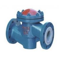 China Lined Lift Cast Iron Flanged Check Valve High Temperature PN10 to PN40 Pressure wholesale