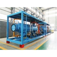China 16Mpa Oil Gas Well Three Phase Separator Skid on sale