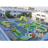 China Open Floating Commercial Inflatable Water Park Aquatics Play Equipment wholesale