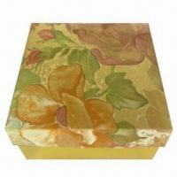 China Gift Box, Made of Art Paper and Cardboard, Available in Various Sizes wholesale