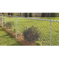 """China 2.1mx10mx50x50mm galvanized steel vinyl coated chain link fence from  """". Victoria """" wholesale"""