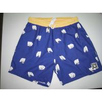 Buy cheap Custom Mens Beach Shorts/Board Shorts Oem With White Cord from wholesalers