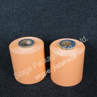 Wholesale Orange colored Film,silage wrap film, 250mm*25mic*1800m,grass packing Film,LLDPE plastic film from china suppliers