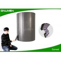 China Flexible Led Curtain Display / Wall Video Screens For Advertising , 3.9mm Pixel Pitch wholesale