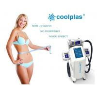 China Non Surgical Cryolipolysis Fat Freezing Machine , Coolplas Cellulite Reduction Machine wholesale