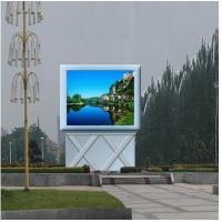 China DIP346 P10 LED Outdoor Advertising Screens , LED Video Screen 10000 dots / ㎡ wholesale