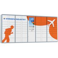 Buy cheap Winnsen RFID and phone number access Parcel Delivery Locker with multi languages from wholesalers