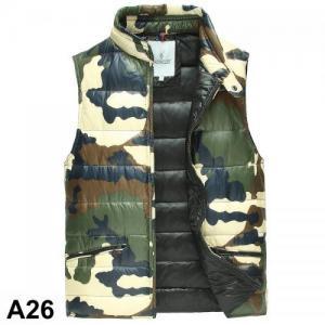 China 2015 Moncler vest men winter jacket duck down camouflage vest wholesale