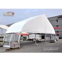 China Aluminum Frame TFS Tent Solid Wall Fire Retardant PVC Roof Cover wholesale