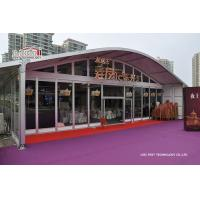 China Exhibition Outdoor Event Tents UV Resistant Aluminum Structure wholesale