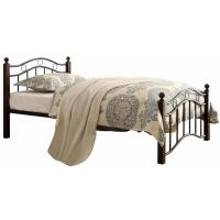 China Warm Kids Bedroom Furniture Metal Frame Bed And Mattress Twin Size Platform Bed wholesale