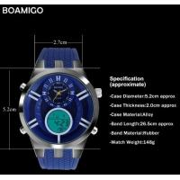 Wholesale Multifunction Waterproof 30M Dual Display Chronograph Alarm Men Sport Watches F534