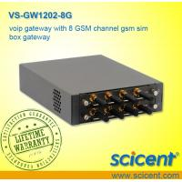 Buy cheap voip gateway with 8 GSM channel gsm sim box gateway from wholesalers