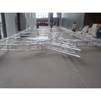 China Silver 50x3mm Tube  5M  Diameter  Aluminum Stage Lighting Truss  System  Can Be Choose For  Different Kinds Of Events wholesale