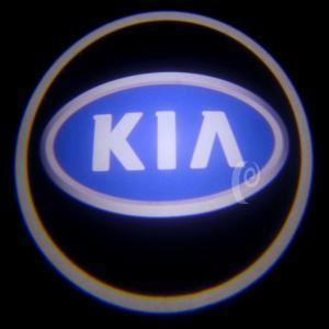 China KIA 3 Watt LED Door Projector Lights , Puddle Auto Projection Lamp wholesale