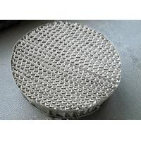 China 250Y Type Metal Structured Packing Perforated Plate Uniform Distribution Gas And Liquid wholesale