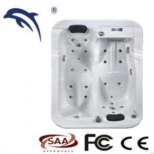 China Comfortable 2 Persons Outdoor Spa Balboa   Hot Tub Small Spa acrylic material wholesale
