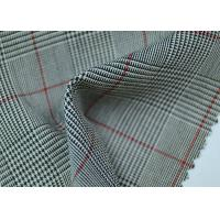 China 100% Polyester Cotton Yarn Dyed Fabric / Grey Striped Fabric Eco - Friendly wholesale