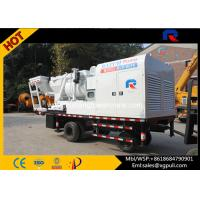 China diesel generator Concrete Mixer Pump Truck white color S Pipe Valve 380v wholesale